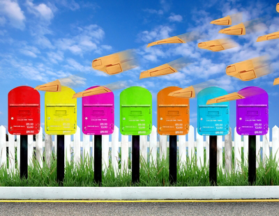 Every Door Direct Mail mailboxes