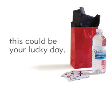 One Down, Two to Go. Is Today Your Lucky Day?