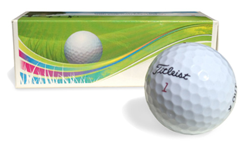 custom printed golf ball packaging