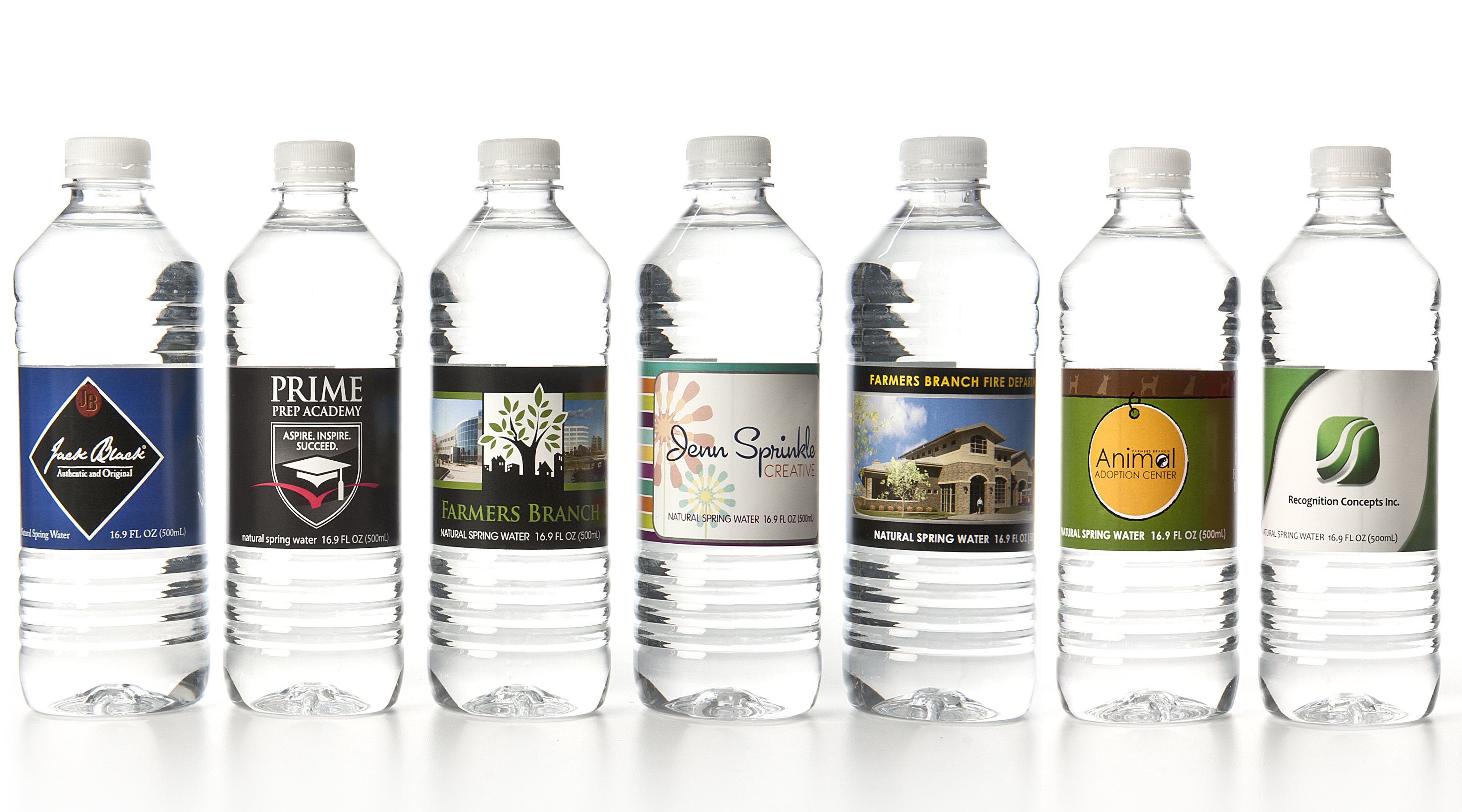 personalized water labels