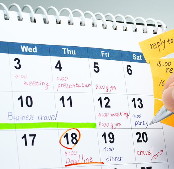 Are the days of paper calendars numbered?